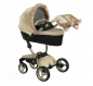 Preview: mima Winter Outfit Kinderwagen Xari champagne-gold