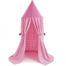 WinGreen Hanging Tent Candy Pink Gingham